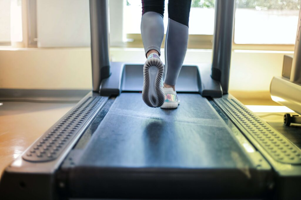 The Right Shoes for Treadmills