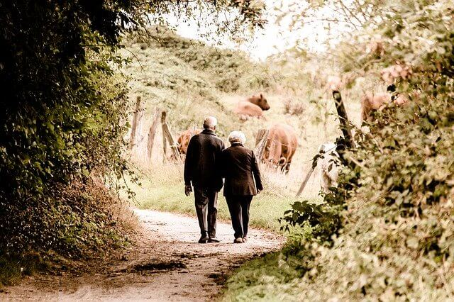 Walking alone for Seniors is not recommended